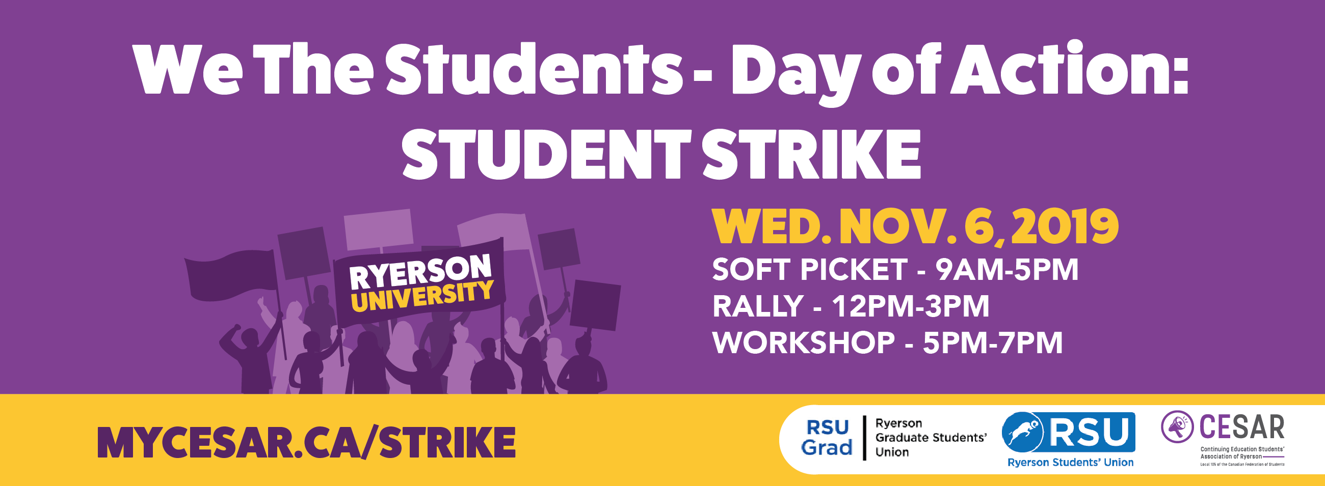 We the Students Day of Action: Student Strike