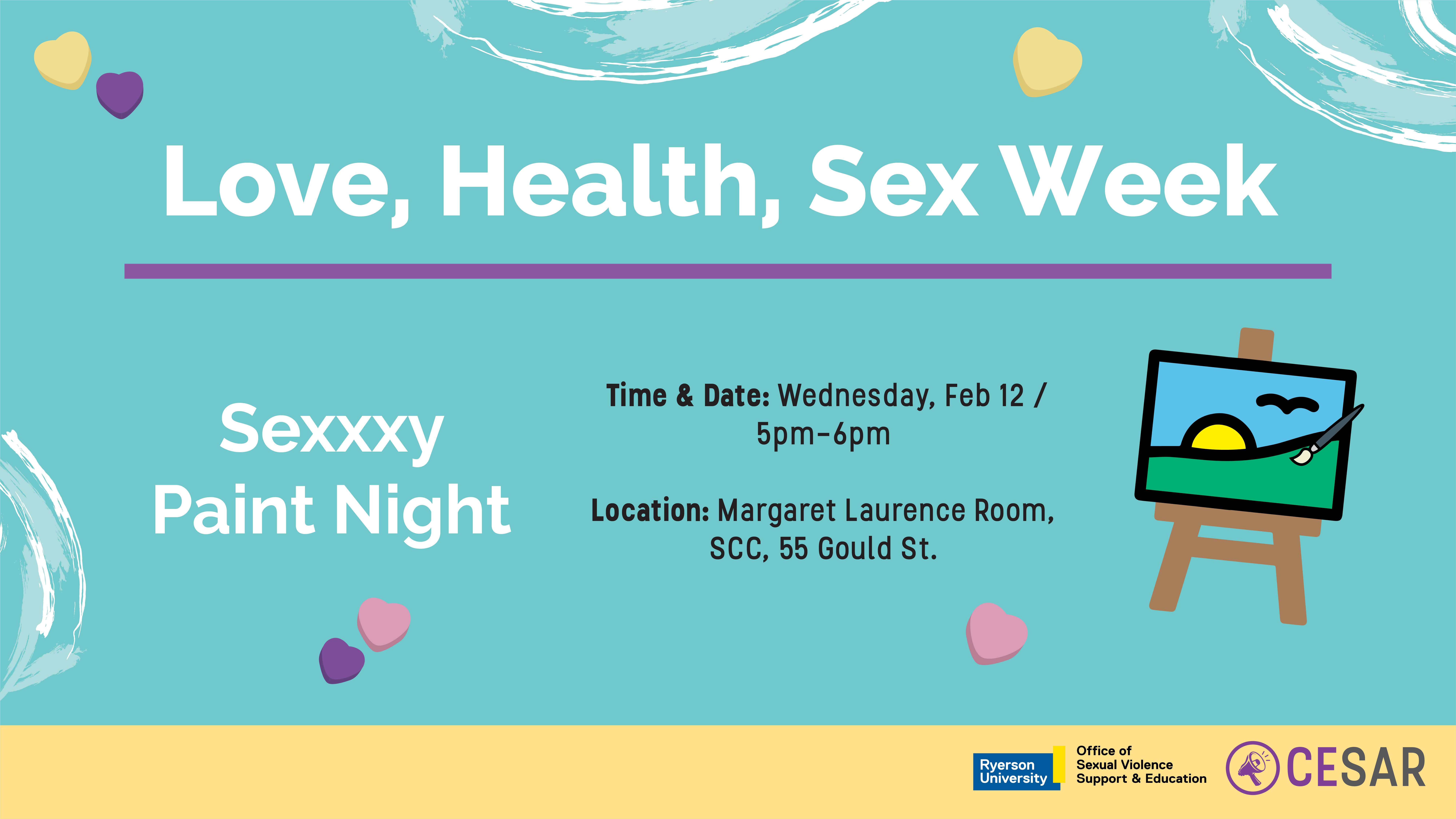 LHS - Sexxxy Paint Night