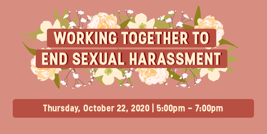 Working together to end sexual harassment