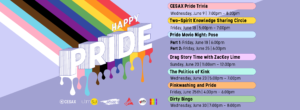Happy Pride Month: Event Listing